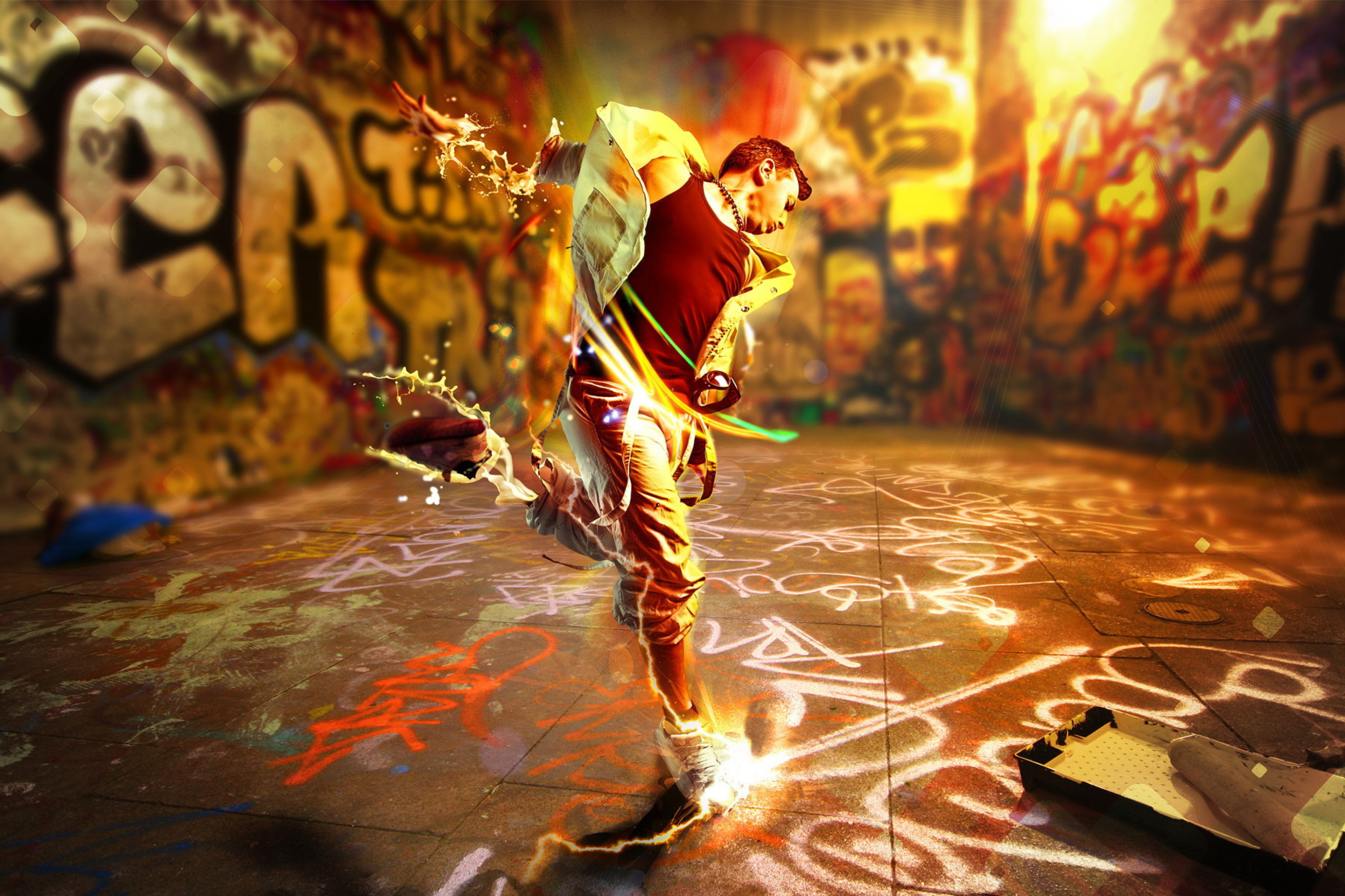 Das Street Dance Wallpaper 2880x1920