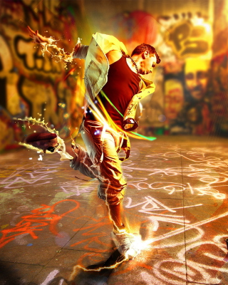 Street Dance Background for Nokia X3-02