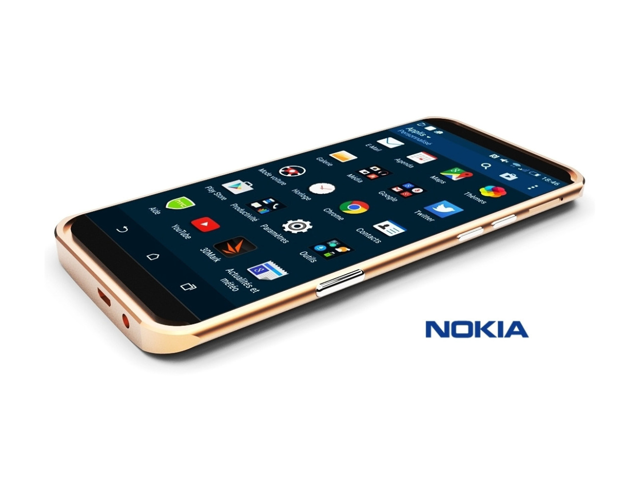 Das Android Nokia A1 Wallpaper 1280x1024