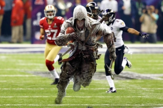 Assassins Creed 4 Super Bowl sfondi gratuiti per Fullscreen Desktop 800x600