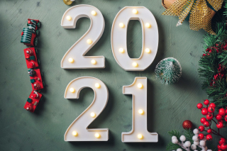 2021 Holiday Wallpaper for Android, iPhone and iPad