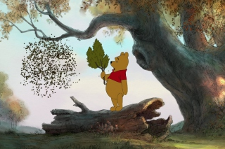 Disney Winnie The Pooh Background for Android, iPhone and iPad