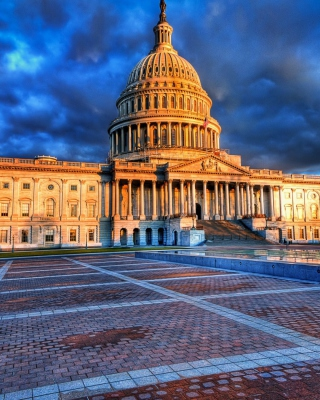 Free United States Capitol in Washington DC Picture for iPhone 5