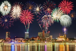 New Year Fireworks Picture for Android, iPhone and iPad