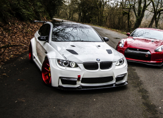 Bmw M3 Background for Android, iPhone and iPad
