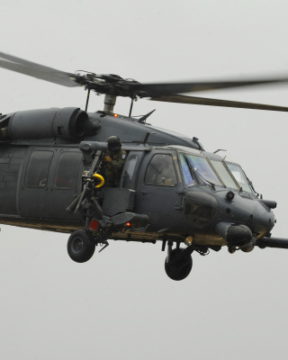 Helicopter Sikorsky HH 60 Pave Hawk Wallpaper for 240x320