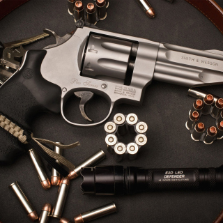 Smith & Wesson Revolver sfondi gratuiti per iPad mini