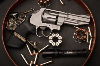 Smith & Wesson Revolver Wallpaper for Android, iPhone and iPad
