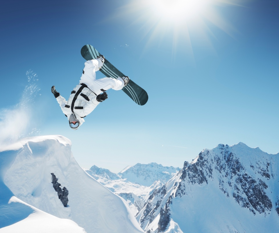 Extreme Snowboarding HD wallpaper 960x800