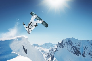 Extreme Snowboarding HD Background for Samsung Galaxy S4