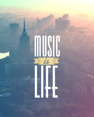 Free Music Is Life Picture for Nokia C1-01