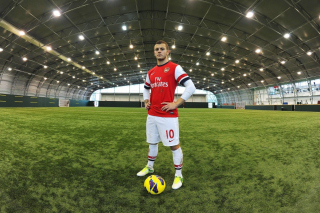 Jack Wilshere Arsenal Background for Widescreen Desktop PC 1600x900
