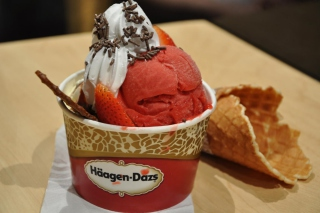 Ice Cream - Häagen-Dazs Wallpaper for Android, iPhone and iPad