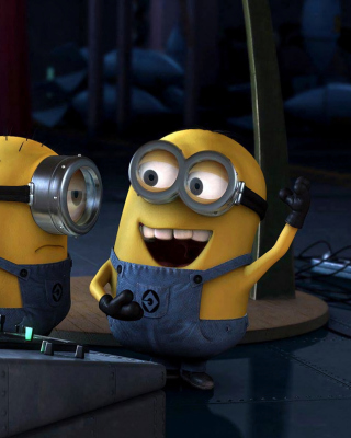 Free DJ Minions Picture for Nokia C1-00