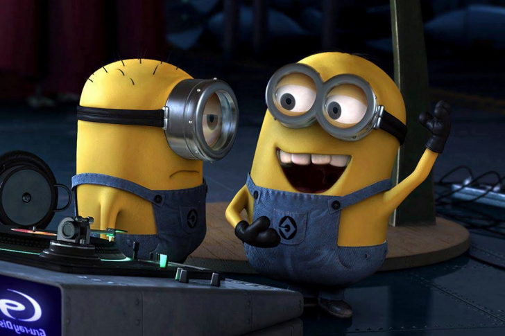 DJ Minions wallpaper