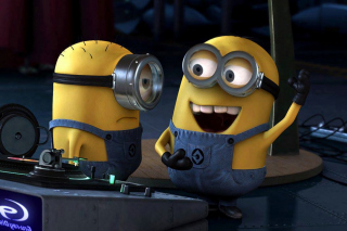 Free DJ Minions Picture for Android, iPhone and iPad