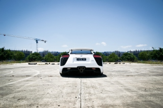 White Lexus Background for Android, iPhone and iPad