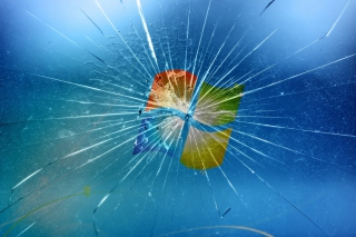 Broken Windows Wallpaper for Android, iPhone and iPad