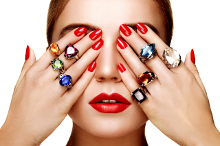 Free Rings on all Fingers Picture for Android, iPhone and iPad