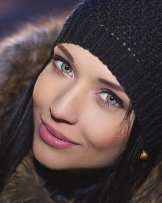 Angelina Petrova Top Model Background for HTC Titan