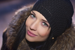 Angelina Petrova Top Model Background for Android, iPhone and iPad