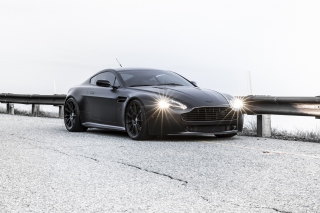 2015 Aston Martin V8 Vantage GT Background for Android, iPhone and iPad