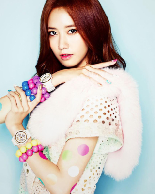 Im Yoon ah Background for Nokia Asha 308