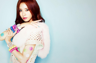 Im Yoon ah Wallpaper for LG Optimus U