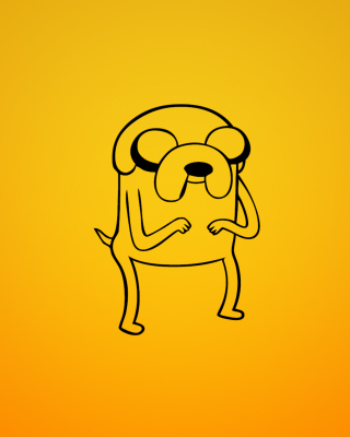 Jake From Adventure Time Illustration - Fondos de pantalla gratis para Nokia Asha 503