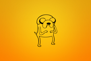 Jake From Adventure Time Illustration - Obrázkek zdarma pro HTC Wildfire