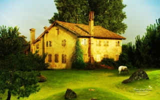 Free Village House Picture for Android, iPhone and iPad
