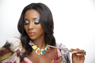 Genevieve Nnaji Background for Android, iPhone and iPad
