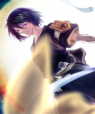 Bleach Kuchiki Rukia Picture for Nokia Asha 300