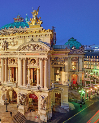 Palais Garnier Opera Paris Background for Nokia 5800 XpressMusic