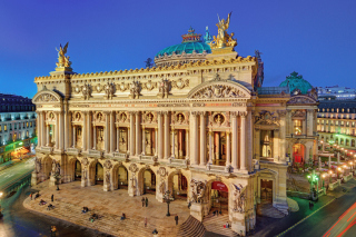 Palais Garnier Opera Paris Wallpaper for Android, iPhone and iPad