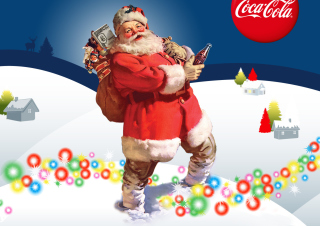 Coke Christmas sfondi gratuiti per cellulari Android, iPhone, iPad e desktop