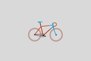 Bike Illustration - Fondos de pantalla gratis