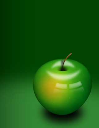 Green Apple Picture for HTC Titan