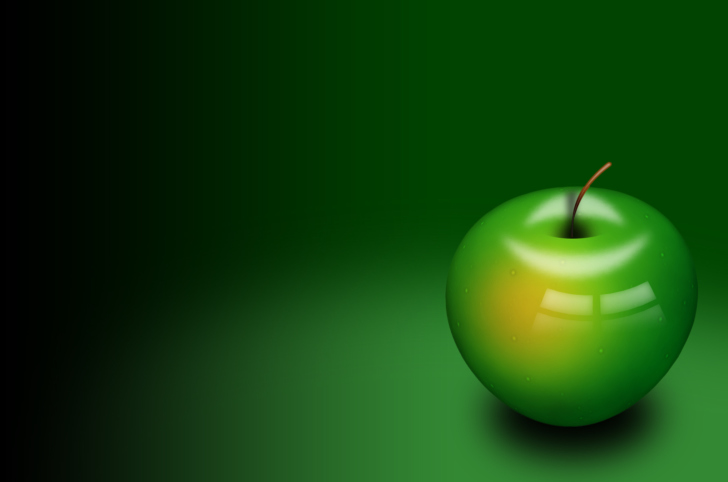 Screenshot №1 pro téma Green Apple