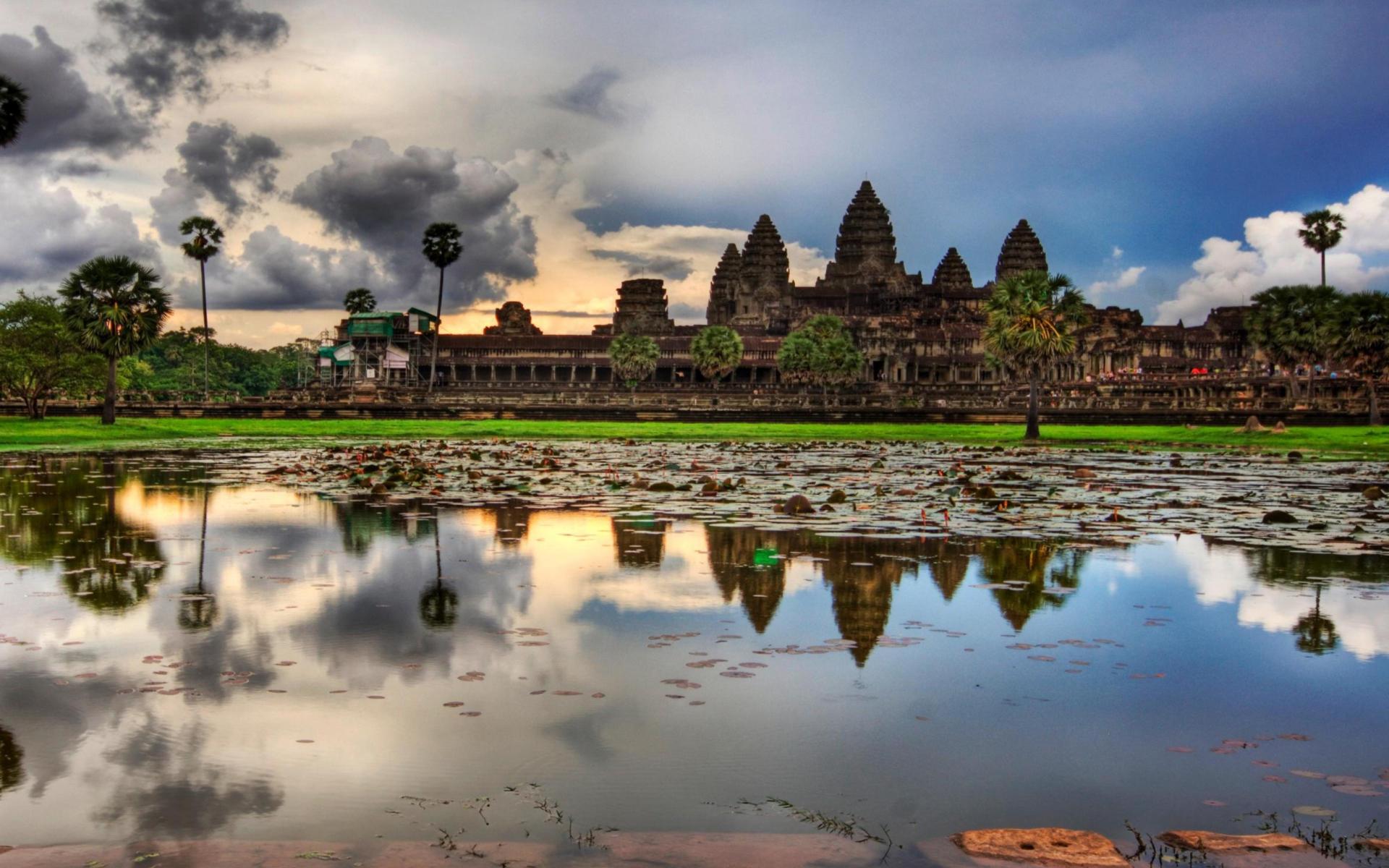 Angkor Wat para Widescreen Desktop PC 1920x1080 Full HD