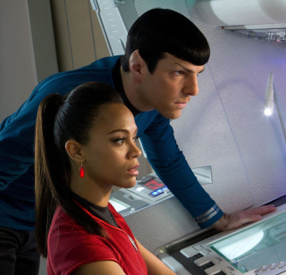 Spock And Uhura -  Star Trek sfondi gratuiti per iPad mini
