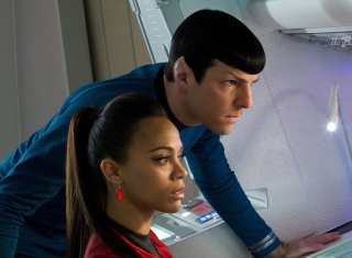 Spock And Uhura -  Star Trek papel de parede para celular para Fullscreen Desktop 1024x768