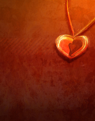 Free Heart Necklace Picture for Nokia Lumia 925