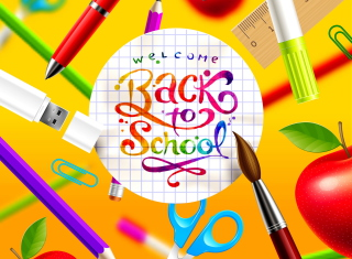 Back to School Background for 960x800