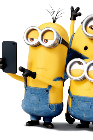 Fondo de pantalla Minions Wallpaper for Laptop 320x480
