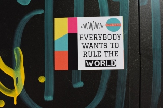 Everybody Wants to Rule the World Wallpaper for Android, iPhone and iPad