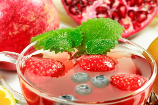 Hot Strawberry Cider - Fondos de pantalla gratis para Android 960x800