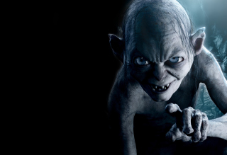 The Hobbit An Unexpected Journey - Gollum Background for Android, iPhone and iPad