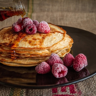 Free Delicious Pancake in Paris Picture for iPad 3