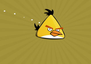 Free Yellow Angry Bird Picture for 1600x1280